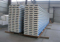 Cina Sandwich Panel Corrugated Steel Sheets Warna Disesuaikan 40 - 180g Zinc pabrik
