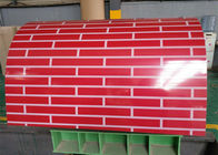 Cina Warna Coated PPGI Steel Coil / PPGL Steel Coil Lebar 914mm-1250mm Untuk Roofing perusahaan