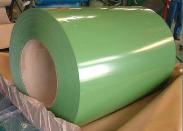 G550 Hot Dicelup Galvanized Coil / Warna Coated Steel Coil Sheet Lebar 600mm - 1250mm