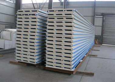 Sandwich Panel Corrugated Steel Sheets Warna Disesuaikan 40 - 180g Zinc